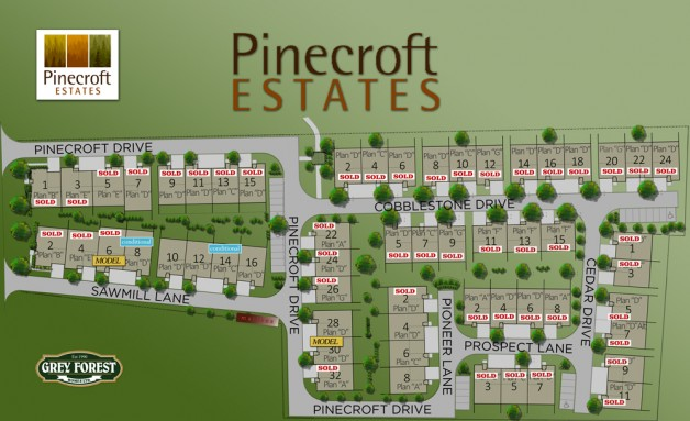 Pinecroft Estates in St. David's is our fastest selling community!