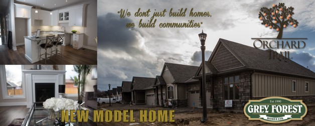 NEW MODEL HOME!