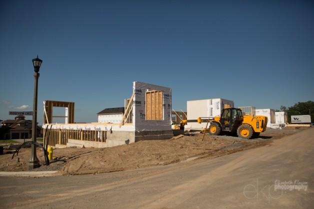 Construction has begun at Tanbark Heights!