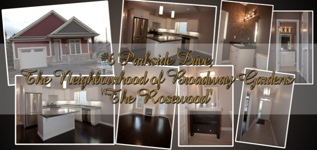 The Rosewood is now a decorated model ..check out our images!
