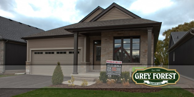 Open House this weekend at Grey Forest Homes!